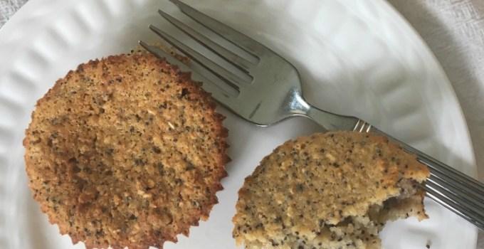 Blueberry Lemon Poppy Seed Muffins–Glutenfree