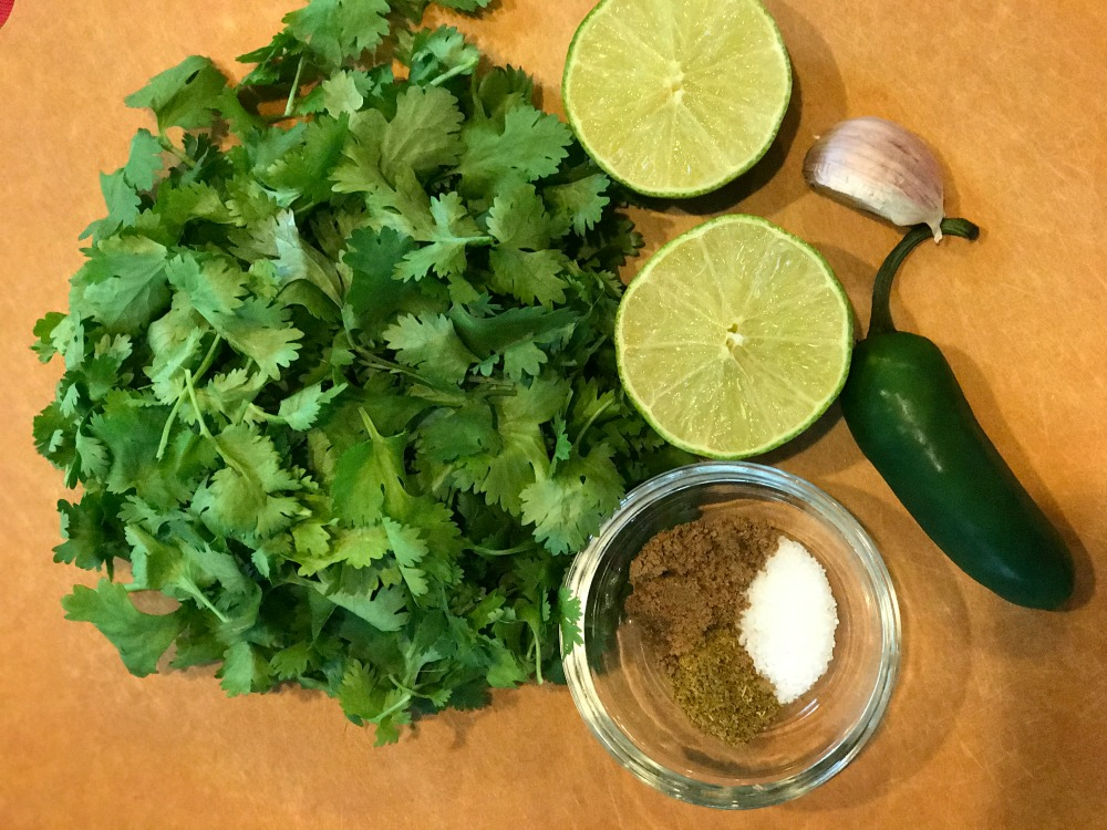 Healthy Taco Salad Cilantro Dressing