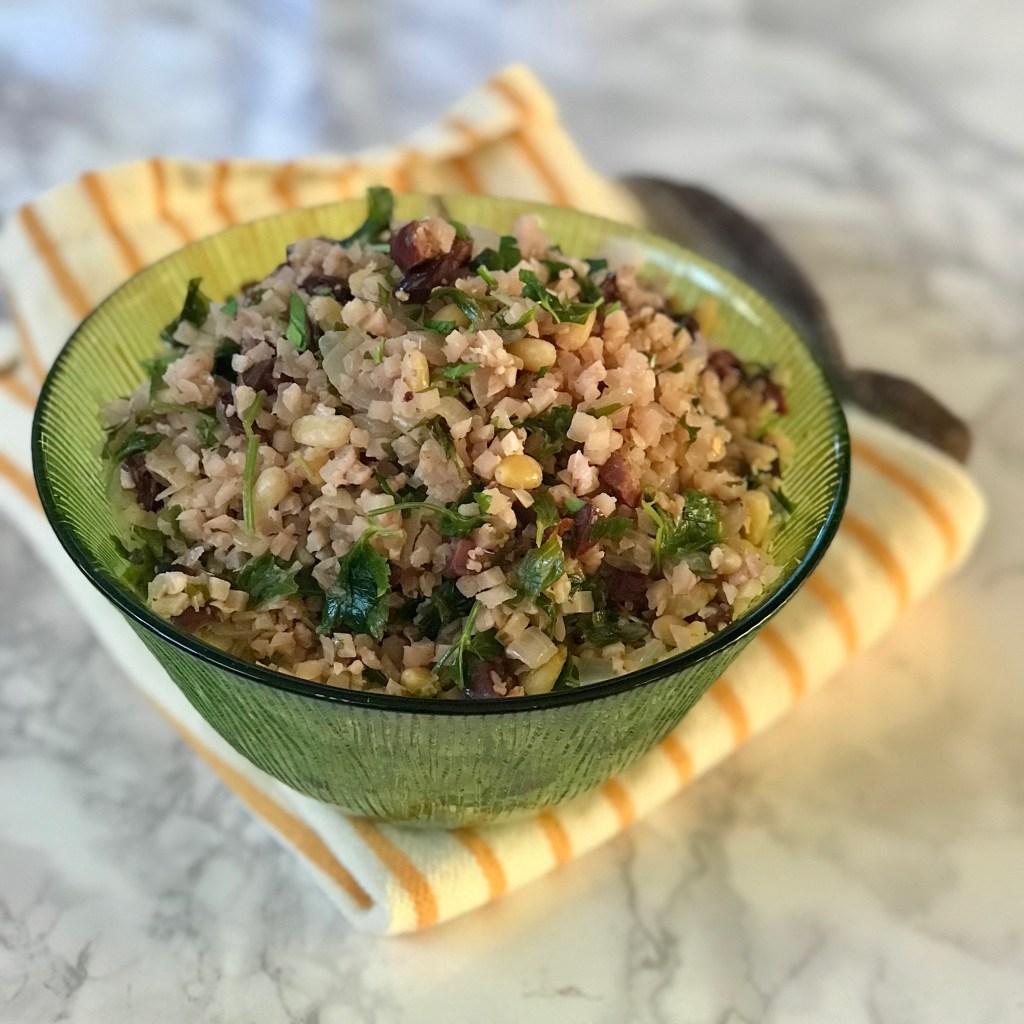 Mediterranean Cauliflower Rice