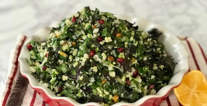 Grain-free Winter Tabbouleh