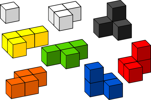 building blocks, an analogy of plot events