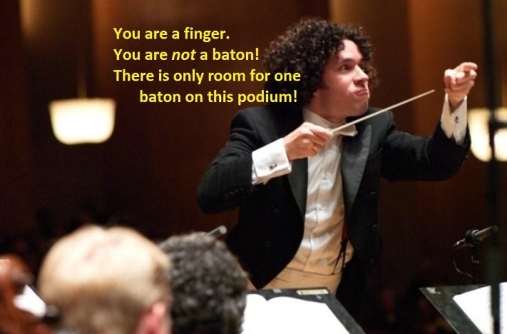 Conductor Meme Dudamel