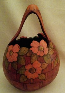 Gourd Basket-First Place - 2016