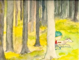 iris in the woods