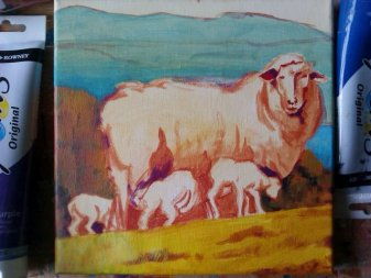 Ewe with a View colour, Debra Wenlock
