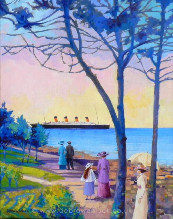 Marine Gardens Titanic by Debra Wenlock