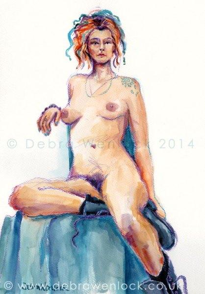 Nude in Boots, Debra Wenlock