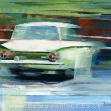 Rally Cortina - oil painting by Debra Wenlock