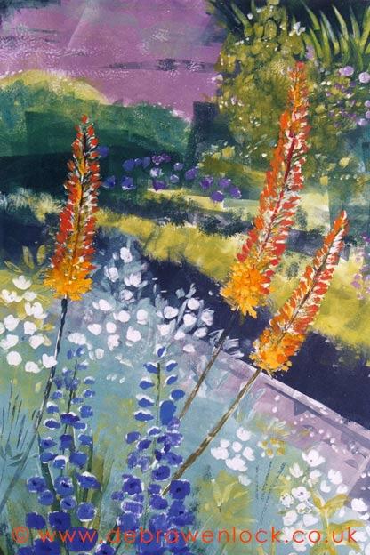 Foxtail Lilies by Debra Wenlock