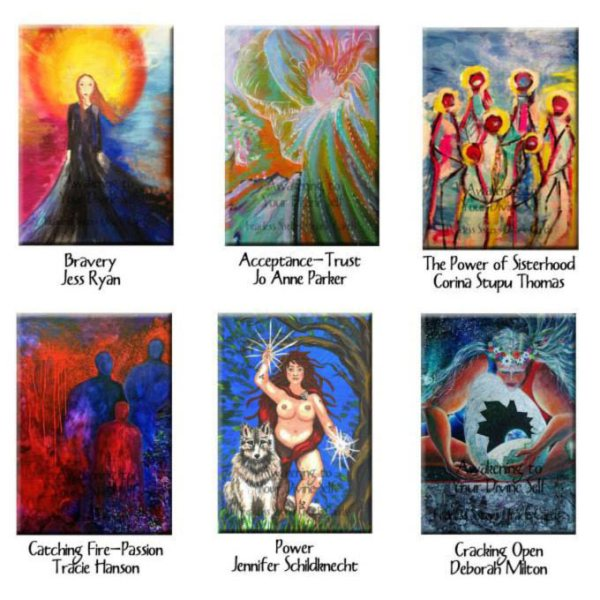 Six Fearless Sisters Oracle Cards sq 3