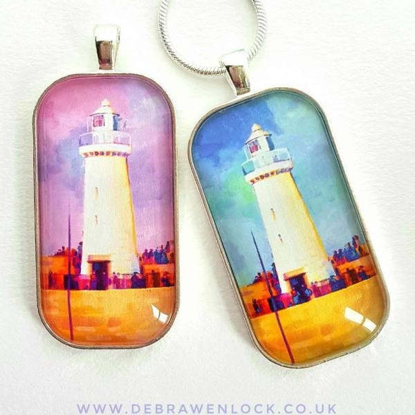 Lighthouse Pendant by Debra Wenlock