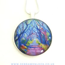 Dark Hedges Pendant
