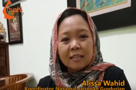 DItunggu Mbak Alissa Wahid di MPK 2017
