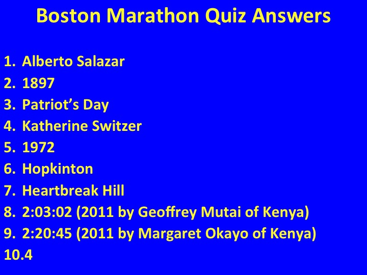 Saluting Everyday Boston Marathon Runners