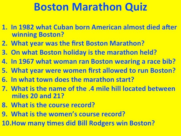 BostonMarathonQuiz