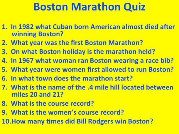 BostonMarathonQuiz