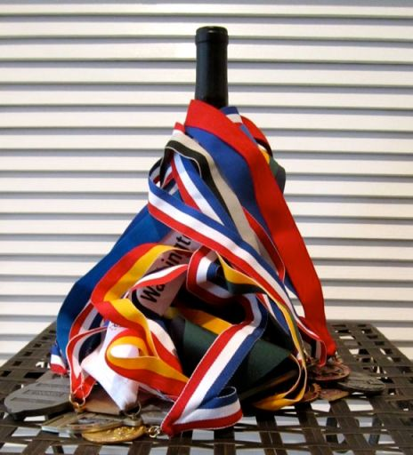 MedalsWineBottle