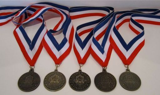 SteamtownMarathonMedals