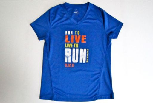 RichmondMarathonLiveToRunShirt