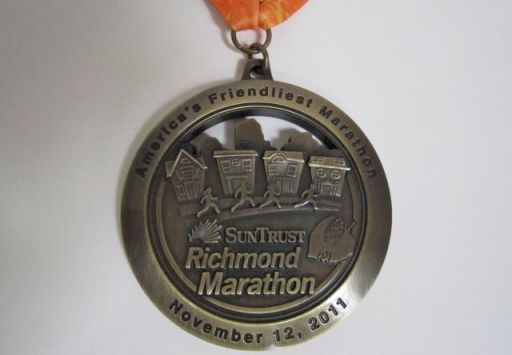 RichmondMarathonMedalCloseUp