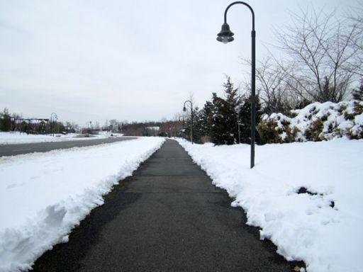 SnowPlowedTrail
