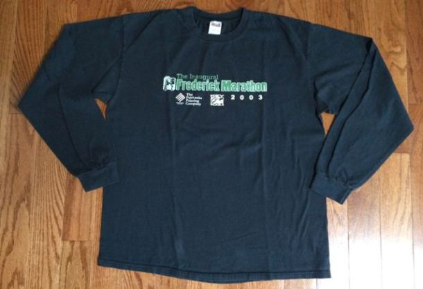 2003FrederickMarathonShirt
