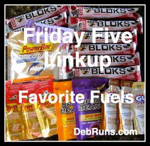 FridayFiveFavoriteFuels