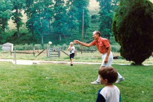 DadPitchingBaseball
