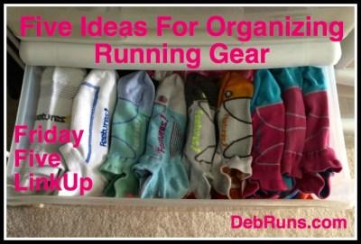 FiveIdeasOrganizingRunningGearPoster