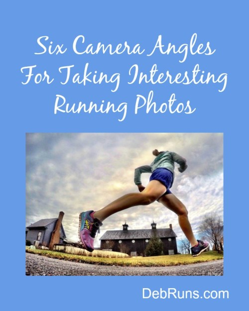 camera angles for taking running photos