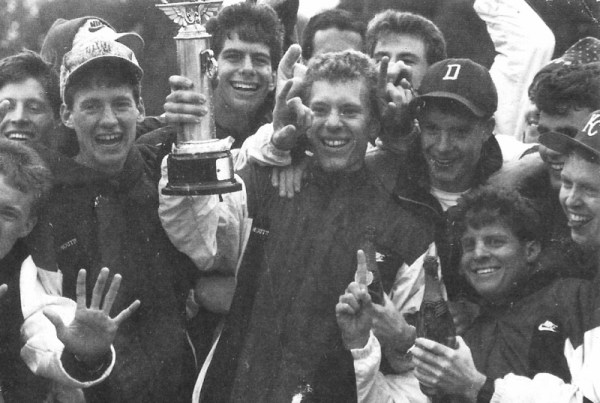 Ray Pugsley - 1990 - Dartmouth's 7th consecutive year as Ivy League Champs (Heptagonal Championships)