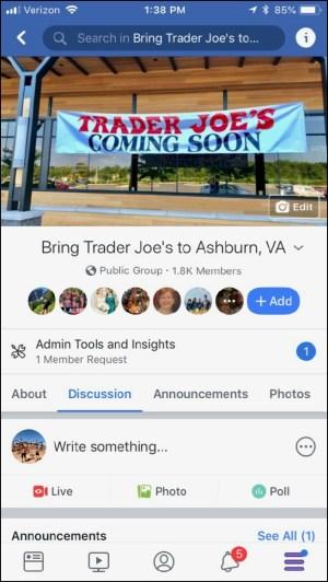 Ashburn Trader Joe's