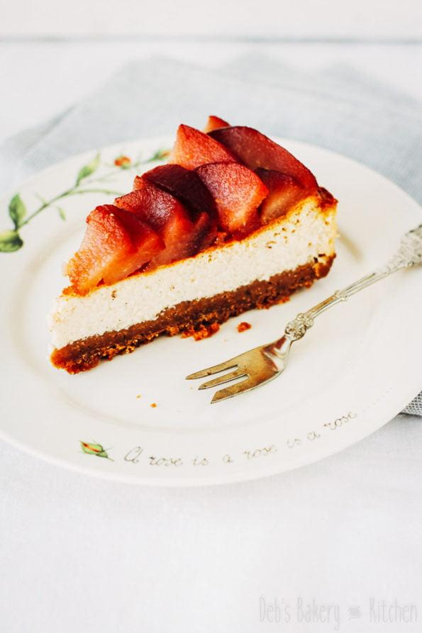 stoofperen cheesecake