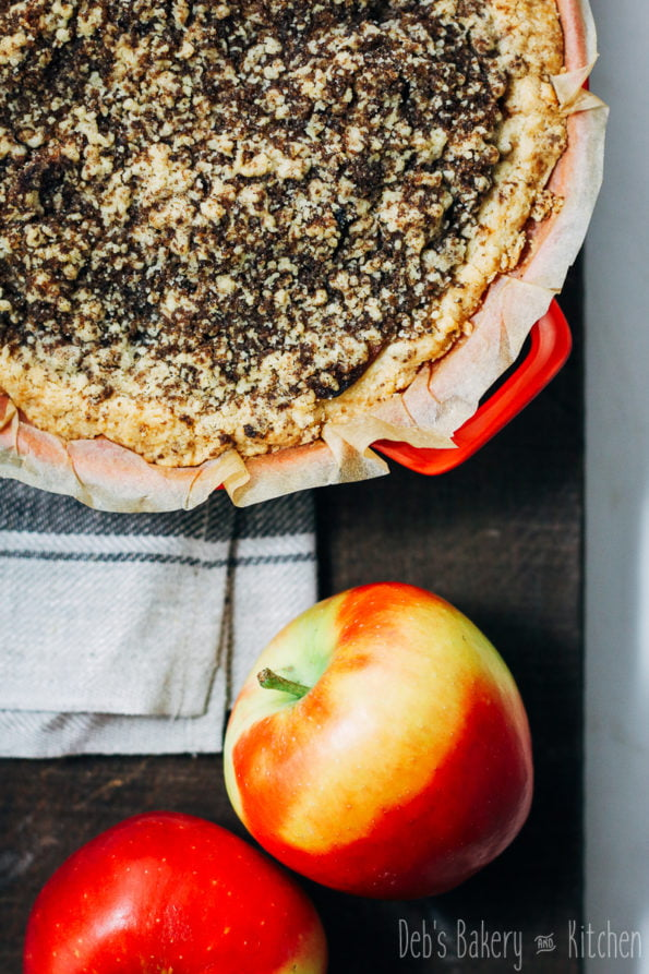 Appel abrikozentaartje