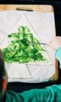 bladerdeeg kerstboom
