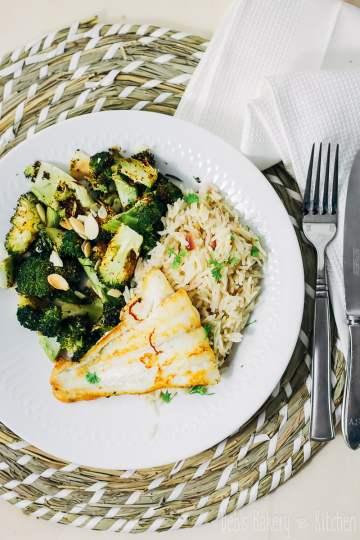 citroenpilav met broccoli