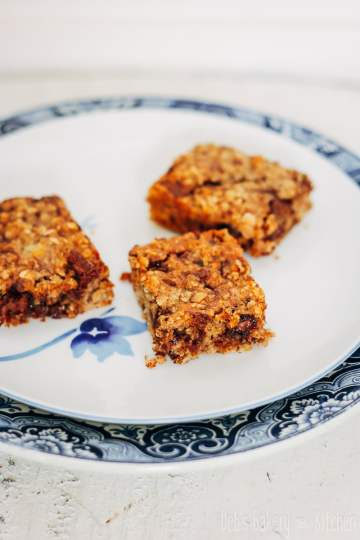gezonde(re) bananen havermout bars