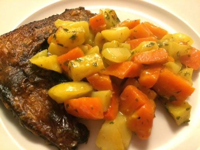 winterpeen en aardappelen met zelfgemaakte currykokossaus Lekker eten met Marlon