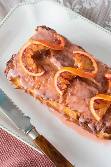 bloedsinaasappelcake met kardemom