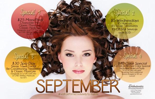 September 2015 Specials
