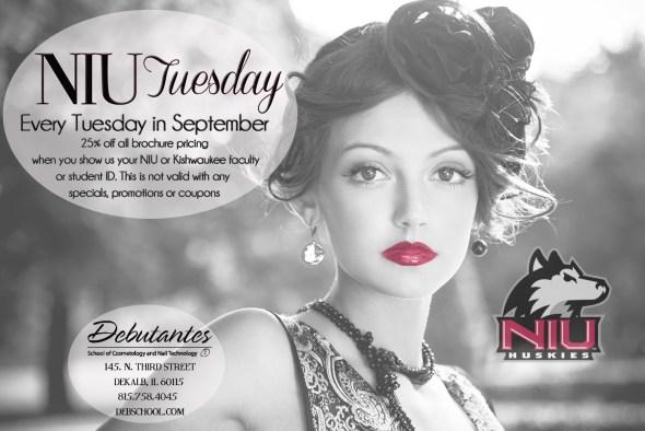 NIU Tuesday September