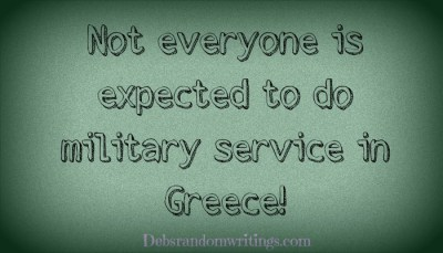 No Military Service For Greg's!