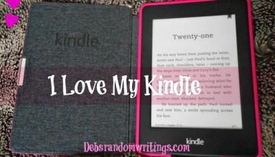 My Love…My Kindle…
