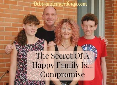 The Secret Of A Happy Family Is…