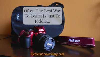Nikon D3200: My Very First 'Grown Up' Camera