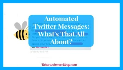Automated Twitter Messages: What's That All About?