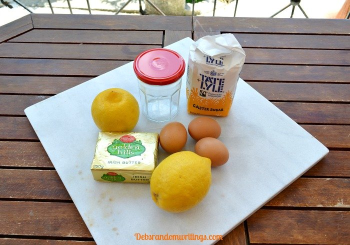 Fresh lemon curd recipe