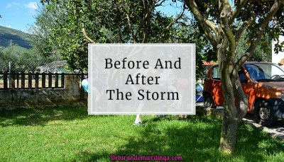 Before And After The Storm