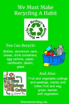 Make Recycling A Habit