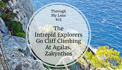 The Intrepid Explorers Go Cliff Climbing At Agalas, Zakynthos